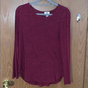 Dark Red sweater from old navy